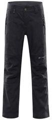 ALPINE PRO dětské softshellové kalhoty Platan 4 152 - 158 tmavě šedá