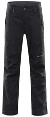 ALPINE PRO spodnie dziecięce softshell Platan 4, 164 - 170 ciemnoszare