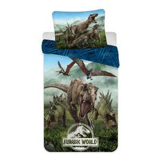 Jerry Fabrics posteljnina Jurassic World Forest