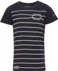 ALPINE PRO otroška majica Marino 2, 164 - 170, črna