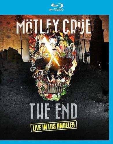 Mötley Crüe: End - Live In Los Angeles (2016) - Blu-ray