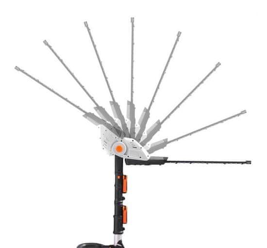 VonHaus G-Series akumulatorske teleskopske škarje za živo mejo (2515200)