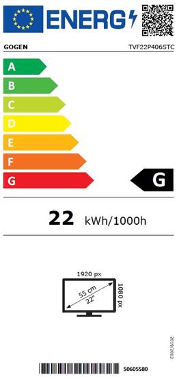 GoGEN TVF 22P406 STC