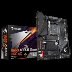 Gigabyte B550 Aorus Pro AC osnovna plošča, AM4, DDR4, Wi-Fi, USB-C, ATX