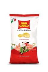 San Carlo čips, slani, 5 x 180 g