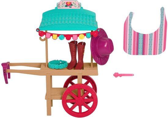 Mattel Spirit Festival Wózek do czyszczenia butów