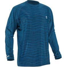 NRS H2Core Silkweight voda/UV majica dugi rukav Posejdon, S, plava