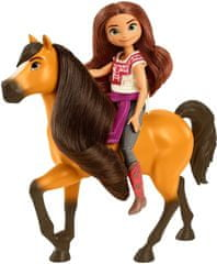 Mattel Spirit bábika a kôň Lucky a Spirit