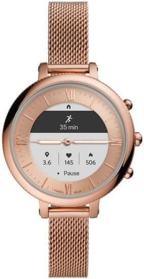 Fossil FTW7039 Hybrid Watch F Monroe Rose Gold Steel