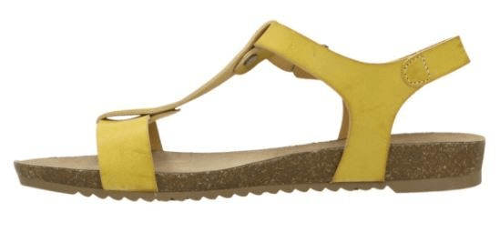 Mustang Ženske sandale 1307803-6 gelb