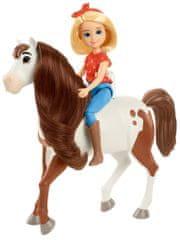 Mattel Spirit bábika a kôň Abigail a Boomerang