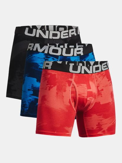 Under Armour Bokser spodnjice CC 6in Novelty 3 Pack-BLK