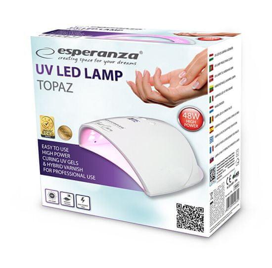 Esperanza UV lampa na nehty Topaz 48 W
