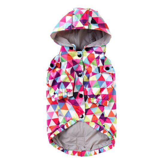 Fuzzyard MOSAIC dežni plašč s kapuco
