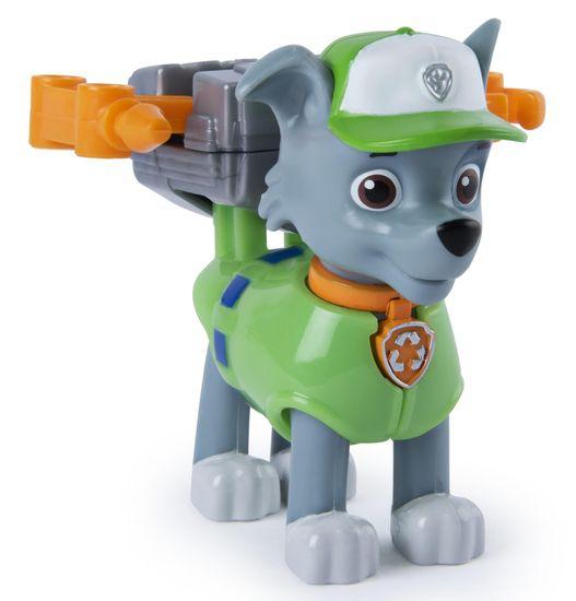 Spin Master Psi Patrol Rocky z plecakiem akcji