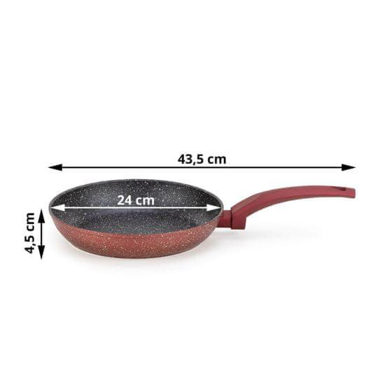 Rosmarino Lava Stone Grape ponev, 24 cm + gratis zaščita iz filca