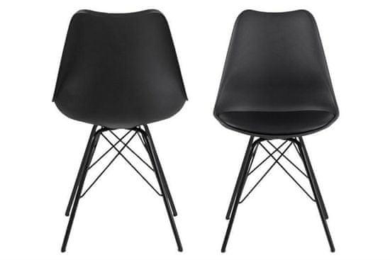 shumee ACTONA ERIS črni stol