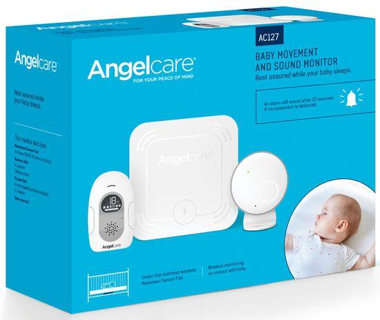 Angelcare AC127 Monitor pohybu dechu a elektronická audio chůvička