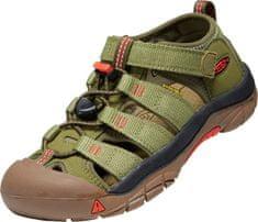 KEEN 1025060/1025073 Newport H2 otroški sandali, zeleni, 27,5