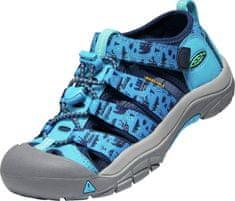 KEEN 1025062/1025076 Newport H2 fantovski sandali, modri, 27,5