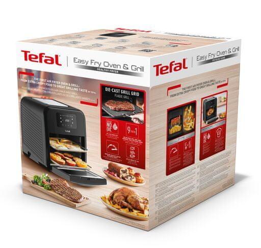 Tefal Easy pečica na vroč zrak 2v1, z žarom (FW5018)