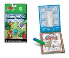 Kouzelné malování vodou Zvířátka - S magickou tužkou na kartě