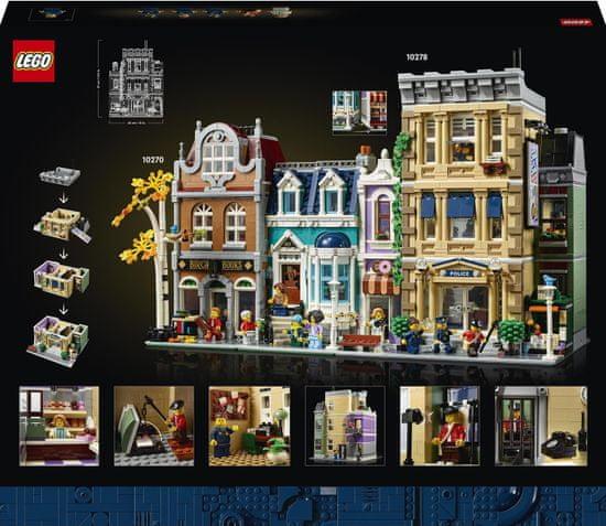LEGO Creator Expert 10278 Policejní stanice