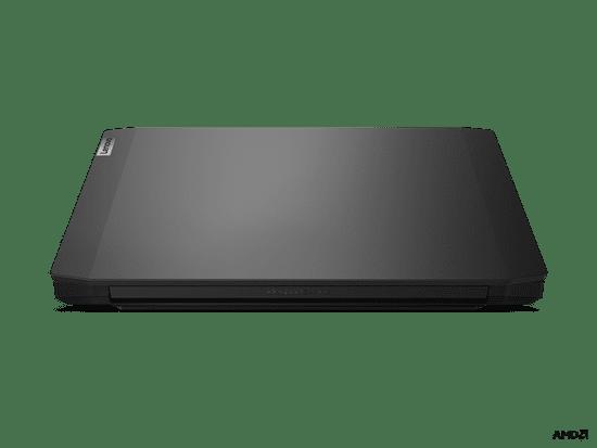 Lenovo IdeaPad Gaming 3 prenosnik, 39.6 cm, FHD, R5 4600H, 16GB, 512GB, GTX 1650, DOS, Onyx Black (82EY00A2SC)