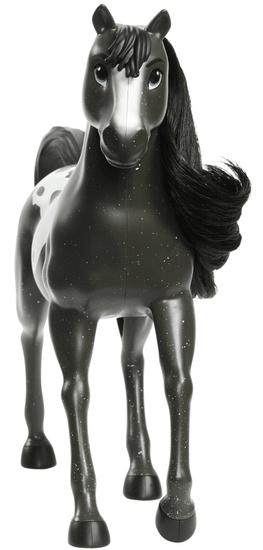 Mattel Spirit Core Stádo koní Čierny žrebec