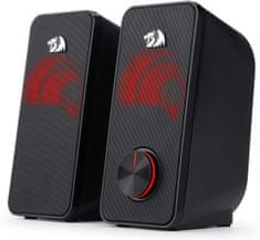 Redragon Stentor GS500 Stereo 2.0 zvočniki, LED