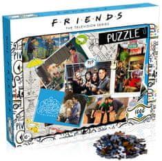 Winning Moves puzzle Przyjaciele Scrapbook, 1000 elementów
