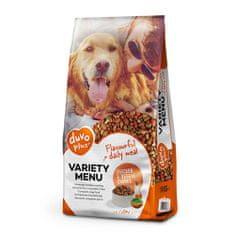 Duvo+ Variety menu dog 14kg száraz kutyatáp