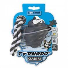 EBI COOCKOO TORNADO F2 kötéllel, játék kutyáknak 7-16-ig, szűrke,70x57x57mm/80% gumi