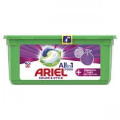 Ariel All-In-1 PODs + Textilvédelem mosókapszula, 30 mosás