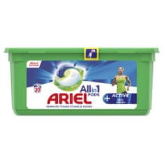 Ariel All-In-1 PODs + Activ Odor Defense mosókapszula, 30 mosás