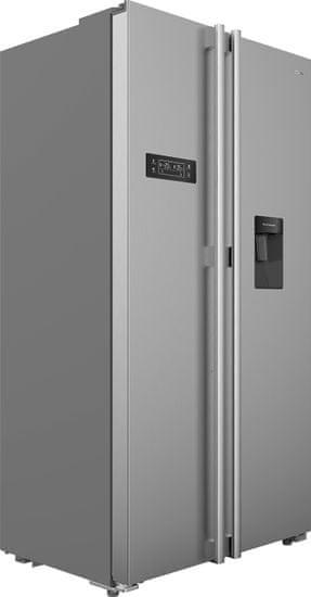 TESLA RB5101FHX1 ameriški hladilnik