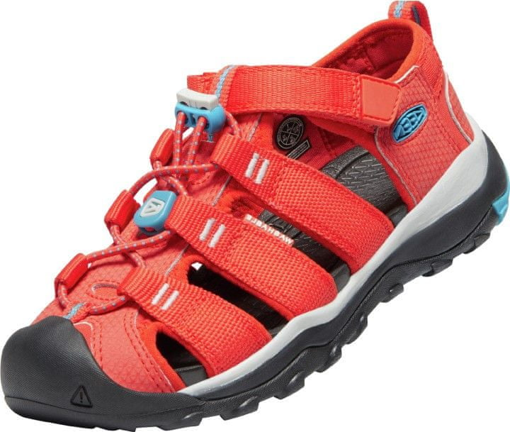KEEN dětské sandály Newport Neo H2 1025104/1025101 37 oranžová