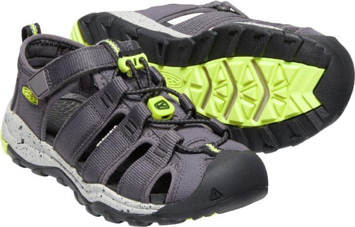 KEEN dětské sandály Newport Neo H2 1025105/1025102 37 tmavě šedá