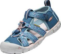 KEEN dekliški sandali Seacamp II CNX 1025138/1025153, 37, modri