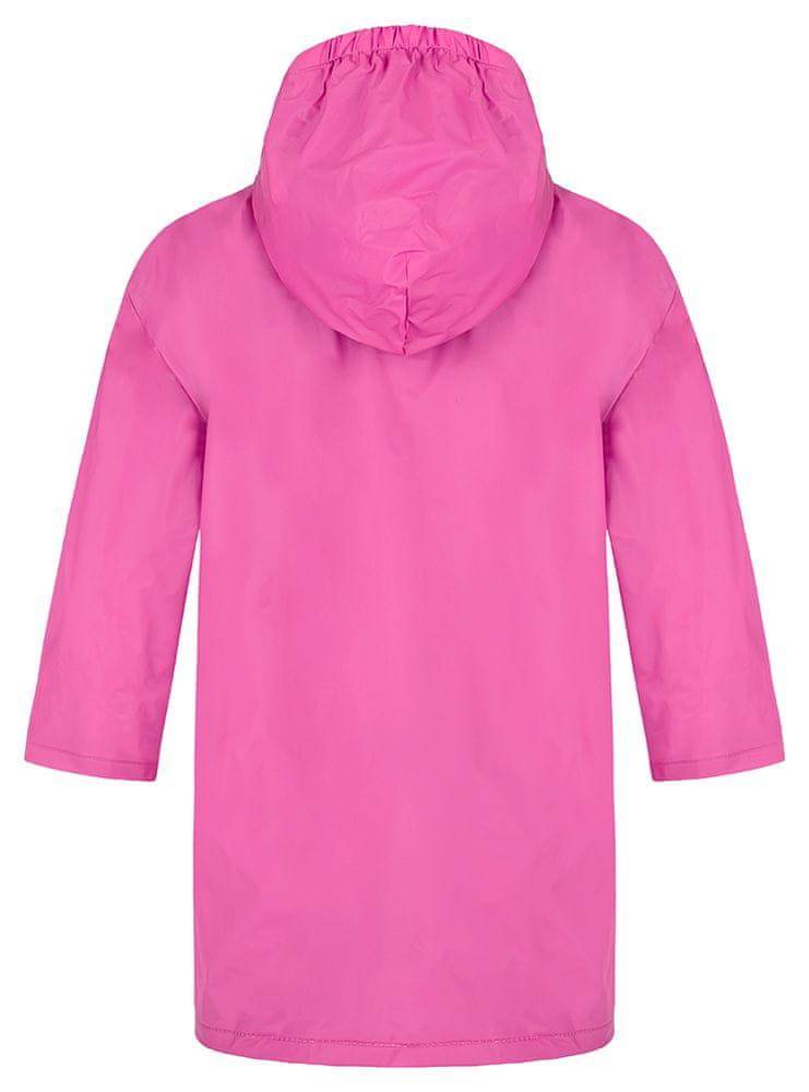 Loap dívčí pláštěnka Xabio 9-10 růžová