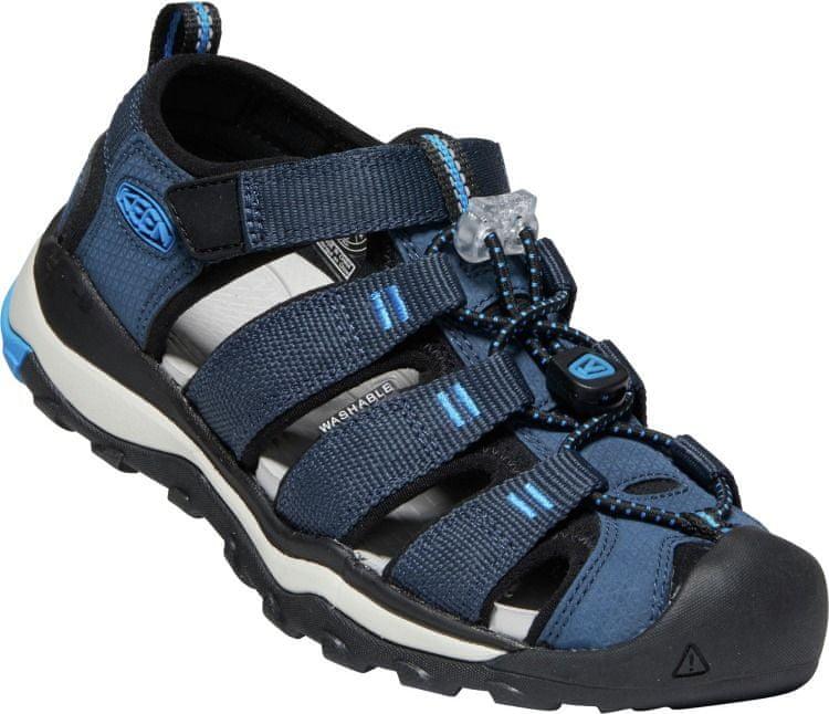 KEEN chlapecké sandály Newport Neo H2 1022906/1022903 37 tmavě modrá
