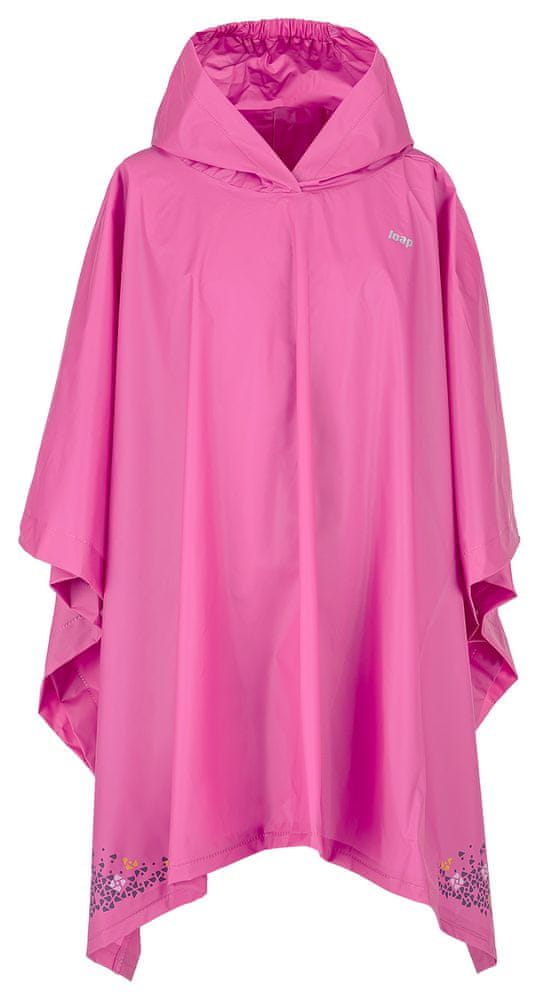 Loap dívčí pláštěnka Xante 9 - 12 růžová