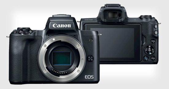Canon EOS M50 II fotoaparat, ohišje, črn