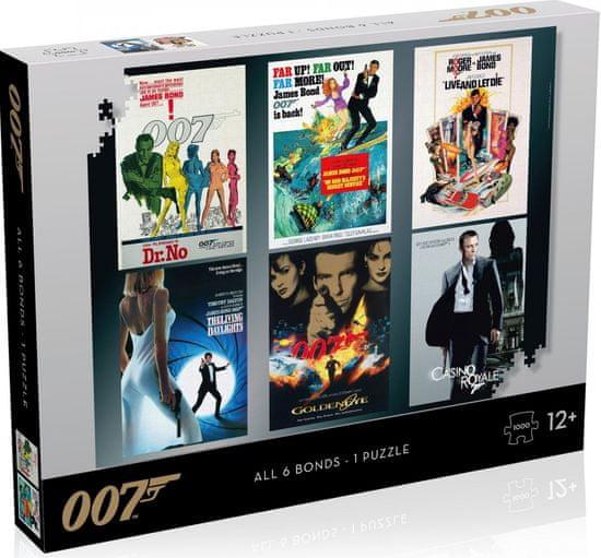 Winning Moves James Bond 007 Actor debut sestavljanka, 1.000 delov