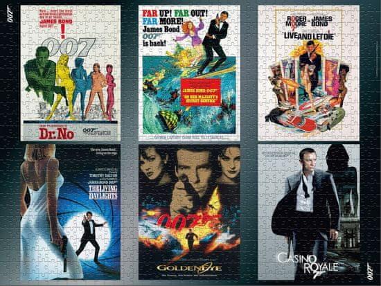 Winning Moves Puzzle James Bond 007 Actor debut 1000 dielikov