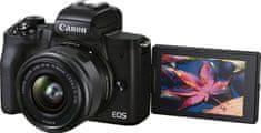 EOS M50 II fotoaparat + 15-45 IS