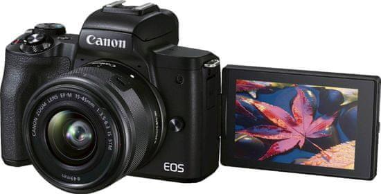 Canon EOS M50 II fotoaparat + 15-45 IS