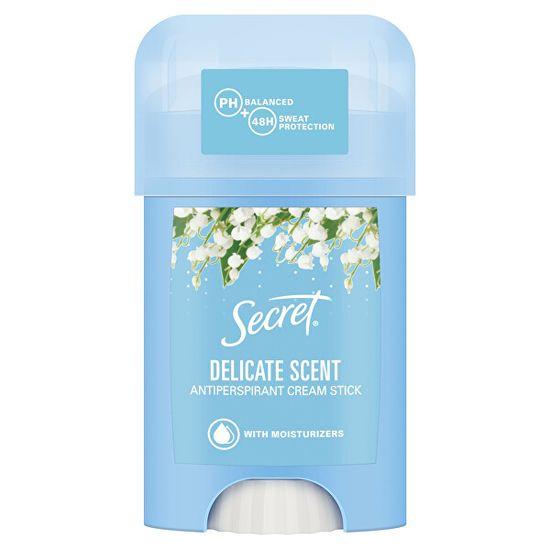 Secret Szilárd krémes izzadásgátló Delicate Scent 40 ml