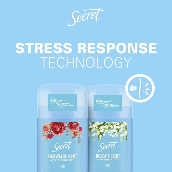 Secret Trden vonj proti potenju Rosewater 40 ml