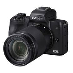 Canon EOS M50 II fotoaparat + objektiv 18-150 IS, črn